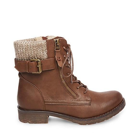 b883e2b1ca6 Steve Madden Regan Booties  Brown boots sz 5. M 5b9d5cab45c8b34c1645a8f0